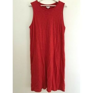J. Jill Size Large Sleeveless Tank Dress